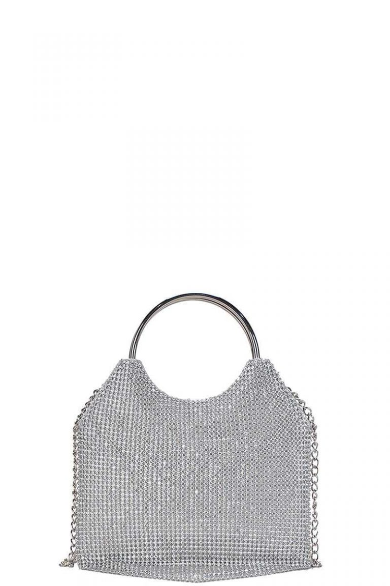 Nana Metallic Clutch Bag