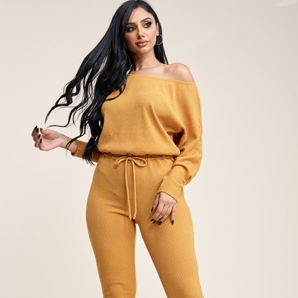 Kemi Slouchy Long Sleeve Jumpsuit With Pockets