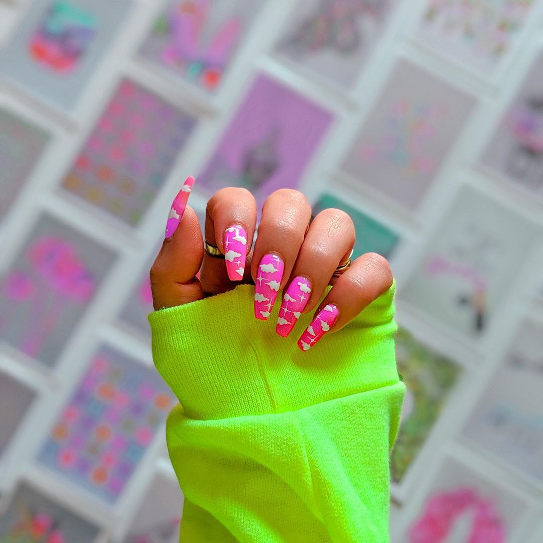 pink-cloudy-nail-design-style-rave
