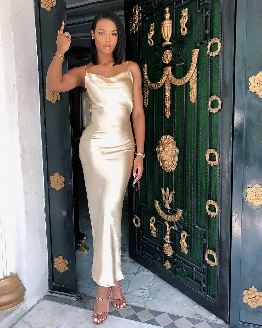 olomide-didi-nude-slip-dress