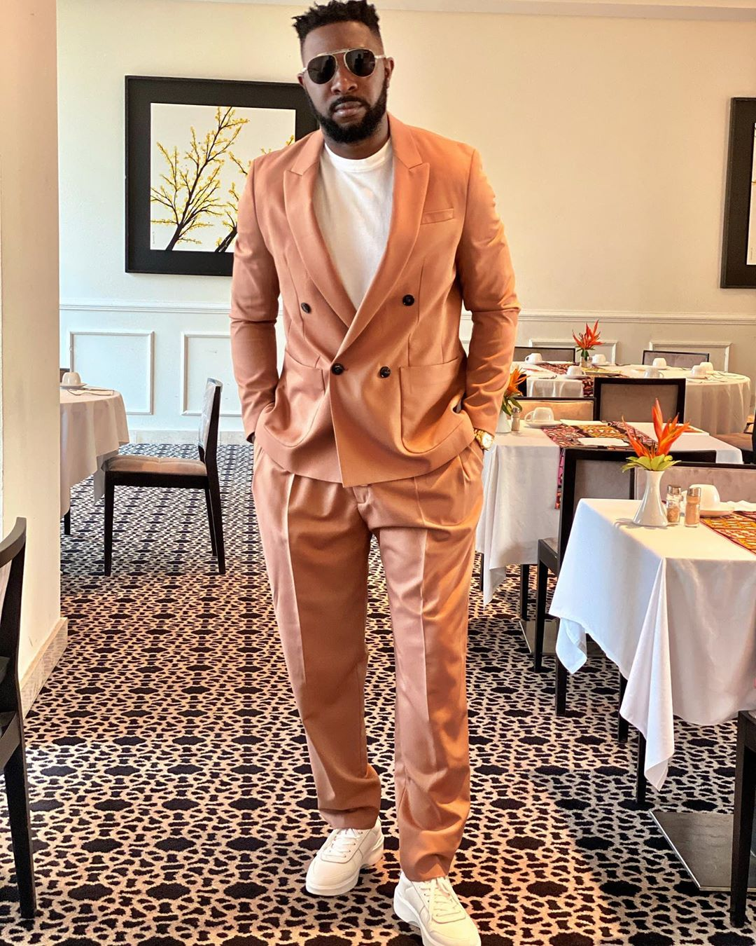African male celebrities style