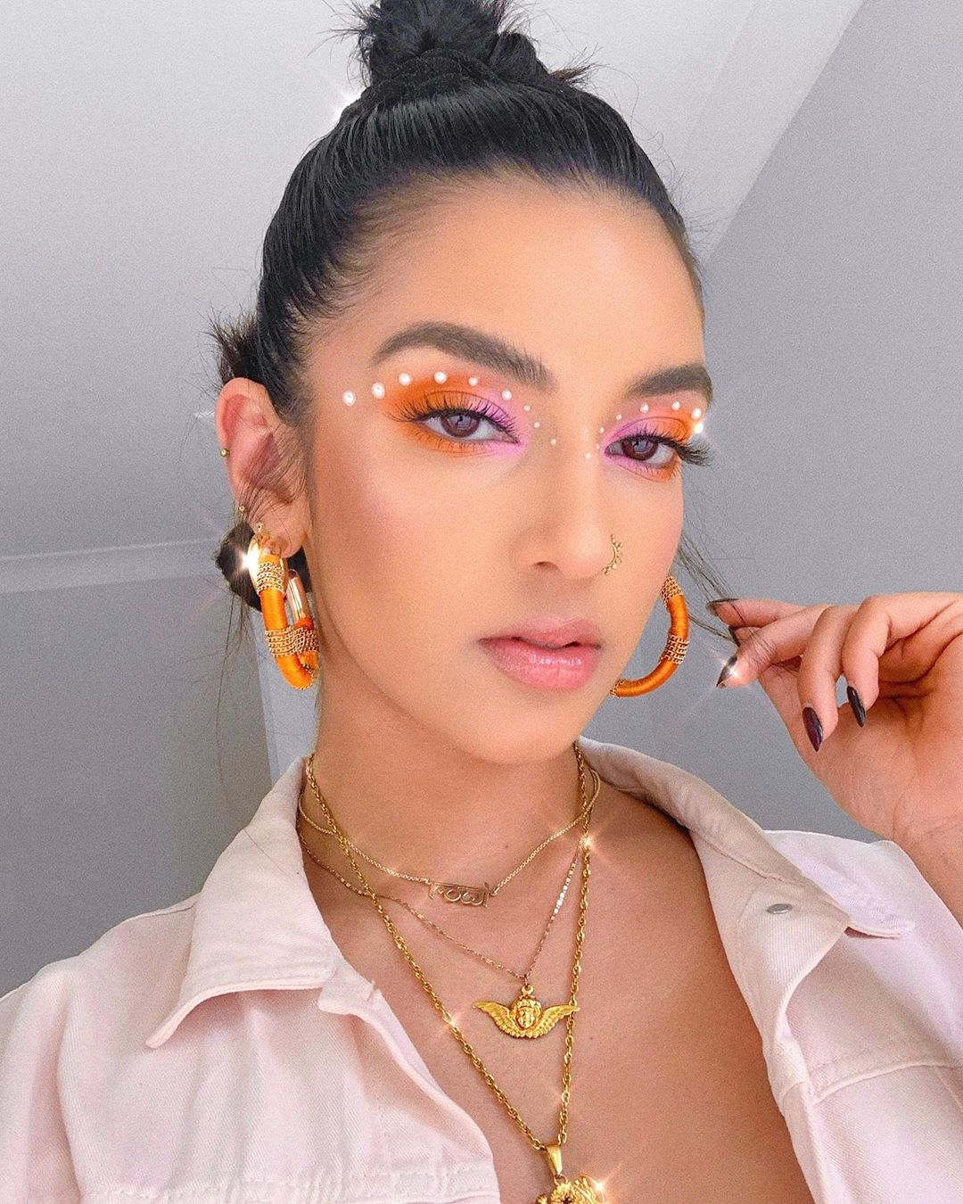 pearl makeup trend 2020 white girl in Nigeria Africa