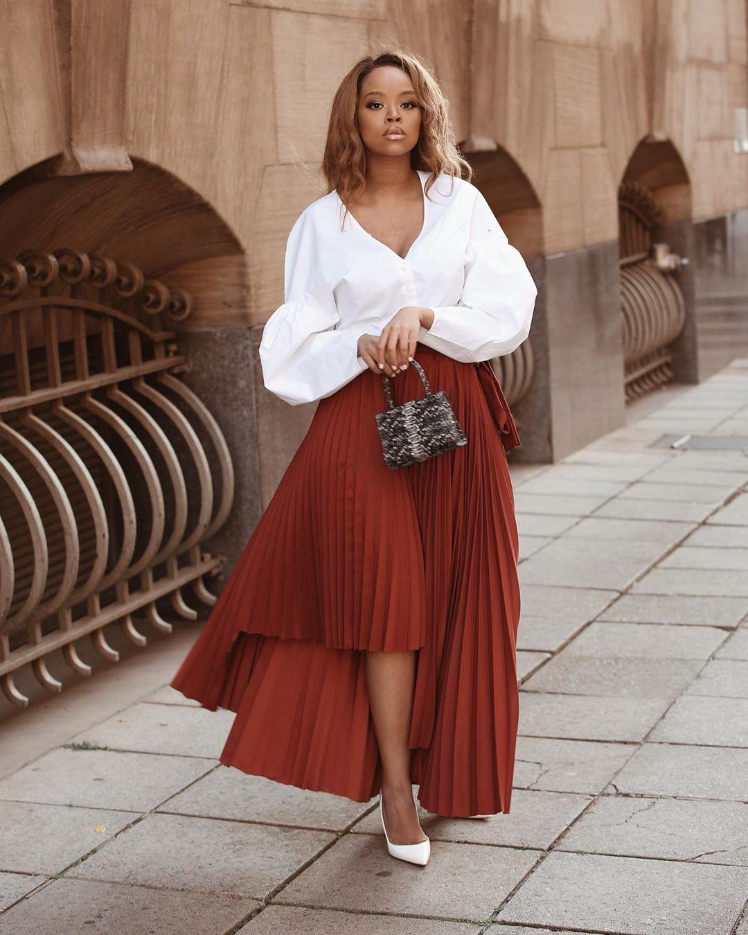 lerato kgamanyane fashion style 2020
