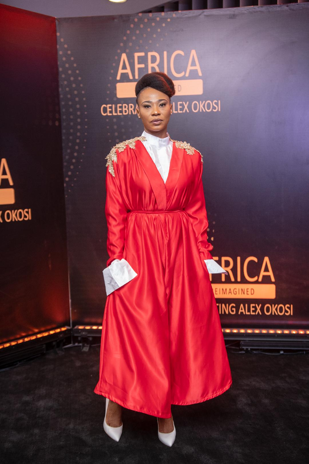 Actress Nse Ikpe-Etim 2020 Steps Out In Style For Alex Okosi's Party