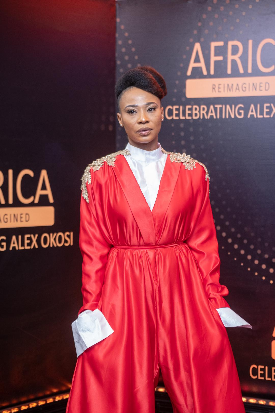 Actress Nse Ikpe-Etim Steps Out In Style For Alex Okosi's Party