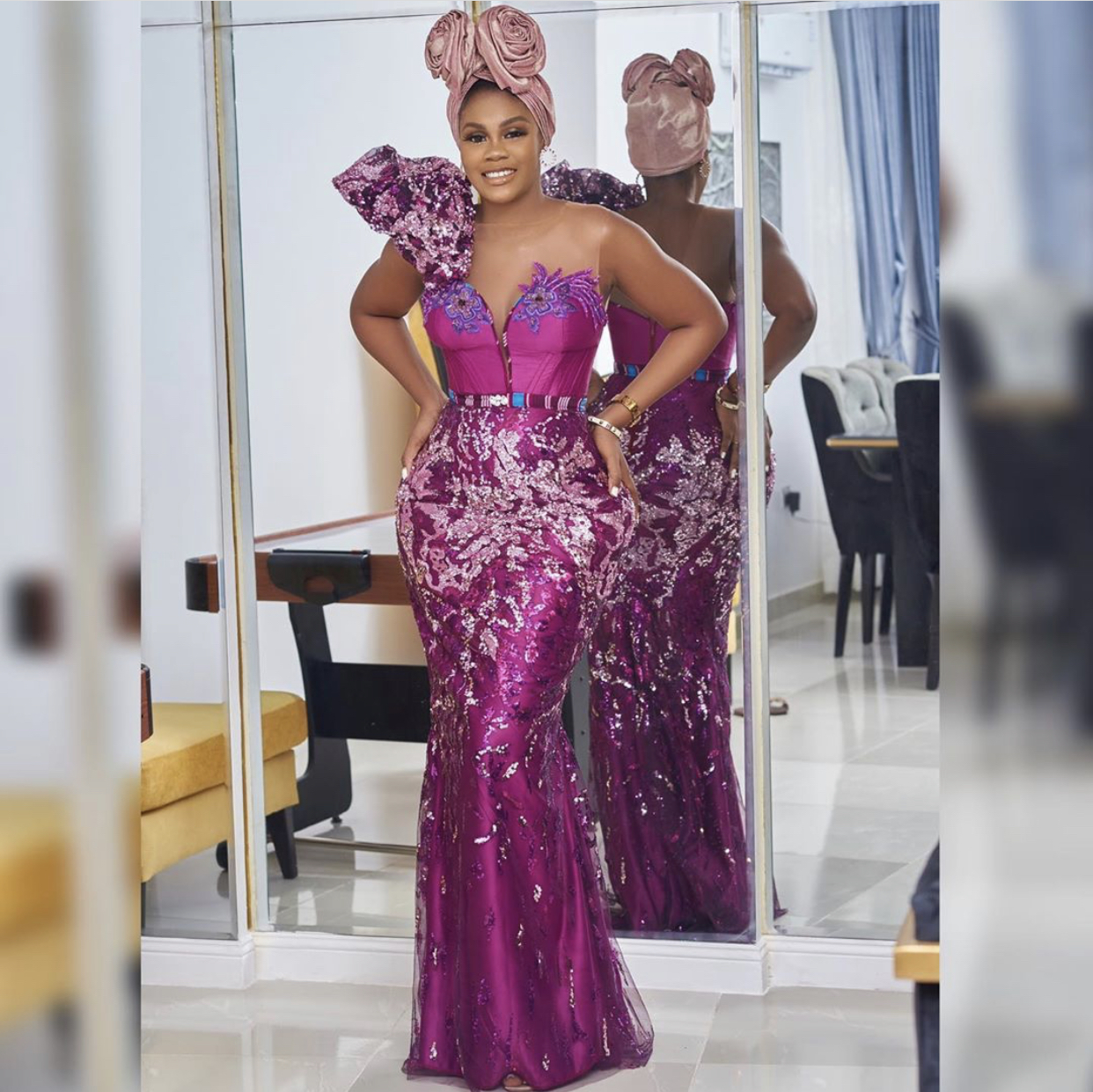 Debbie Beecroft aso ebi style design fashion 2020