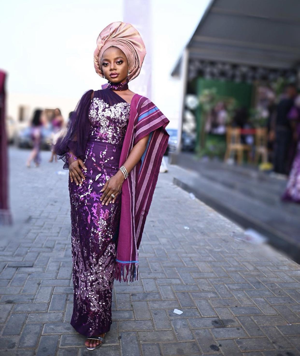 queen makeup artistry aso ebi lagos 2020`