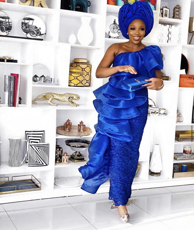 2020-asoebi-styles-women-wedding-guest-cobalt-blue