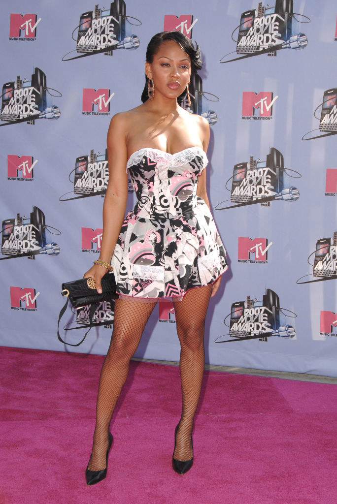 Meagan Good's style MTV Awards