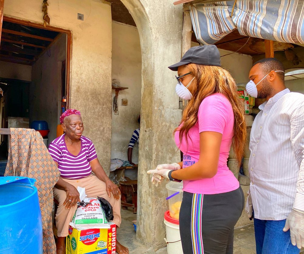 chika-ike-donates-less-privilege-coronavirus-40-health-workers-infected-coronavirus-eric-dier-charged-latest-news-global-world-stories-friday-april-2020-style-rave