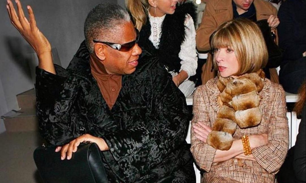 André Leon Talley labarai 2020 akan Anna Wintour Tom Ford Memoir The Chiffon Trenches 2