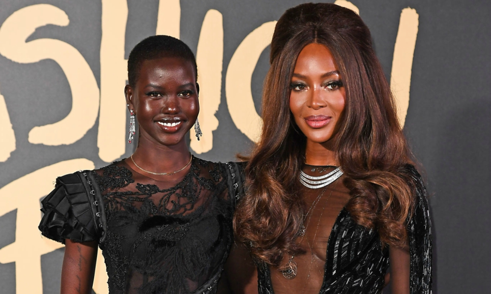 """Naomi Campbell And Adut Akech Talk About Diversity in Fashion And Being A Top Model On """"No Filter With Naomi"""""""