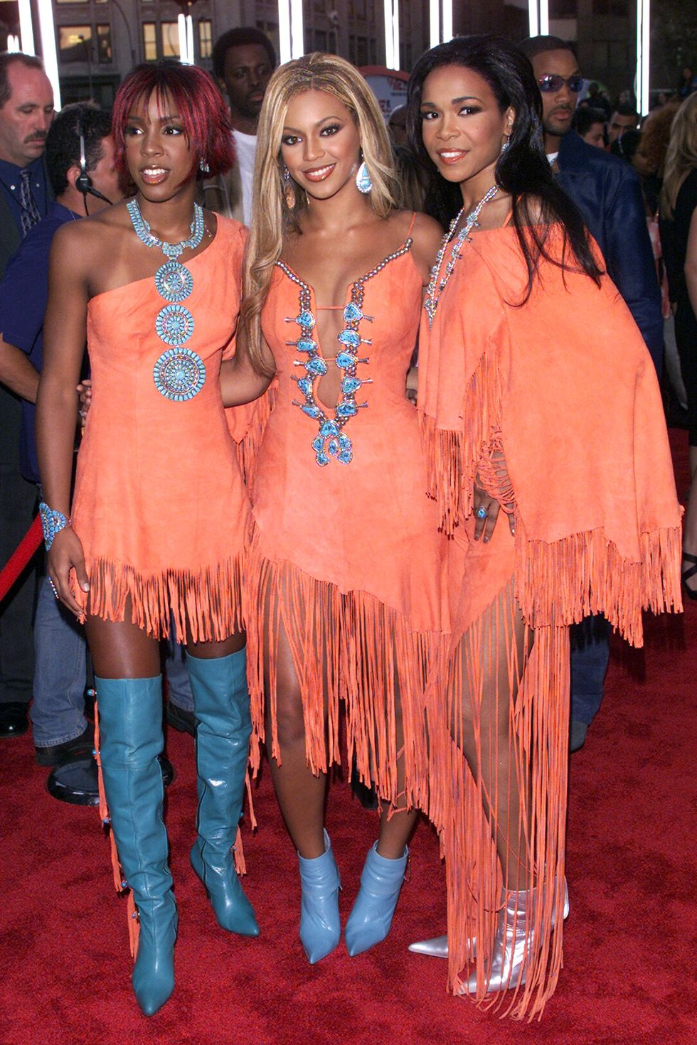 chic cowboy mtv vmas the-evolution-of-beyonce's-style:-from-the-bootylicious-singer-to-the-homecoming-queen