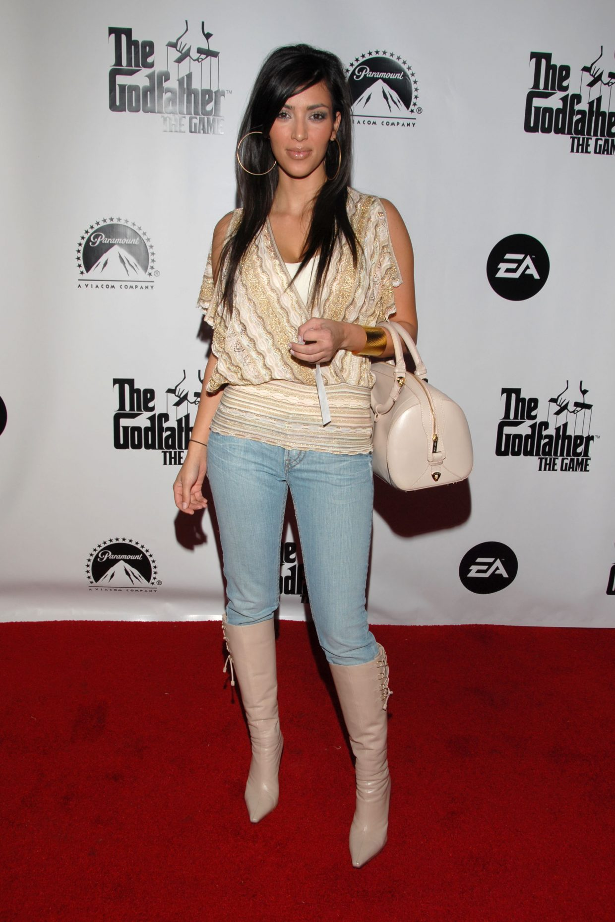 2006 The Evolution Of Kim Kardashian West's Red Carpet Style