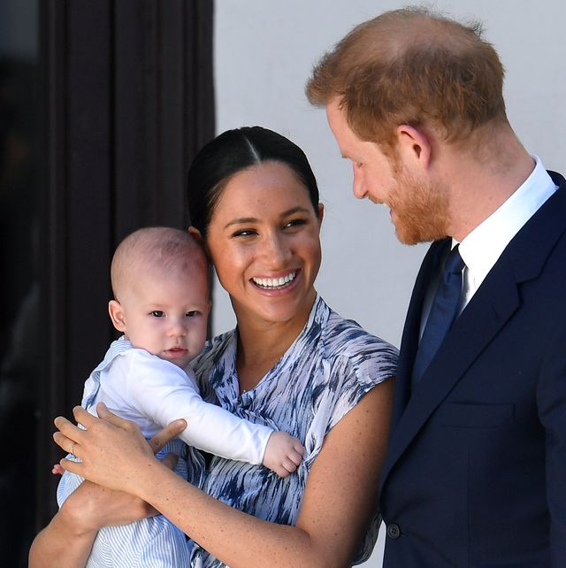 Harry Meghan Archie Archewell