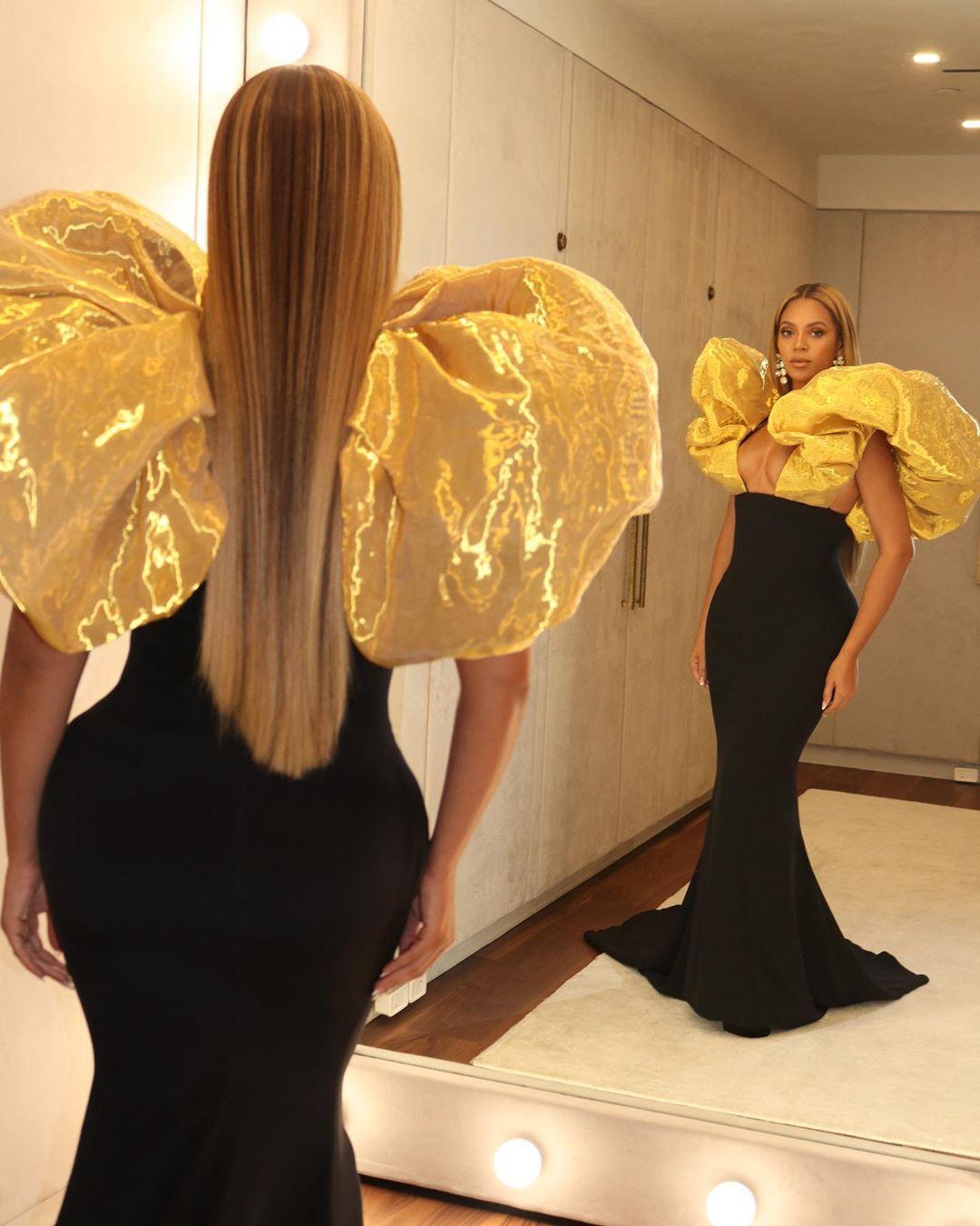 Gold and black Schiaparelli Haute Couture