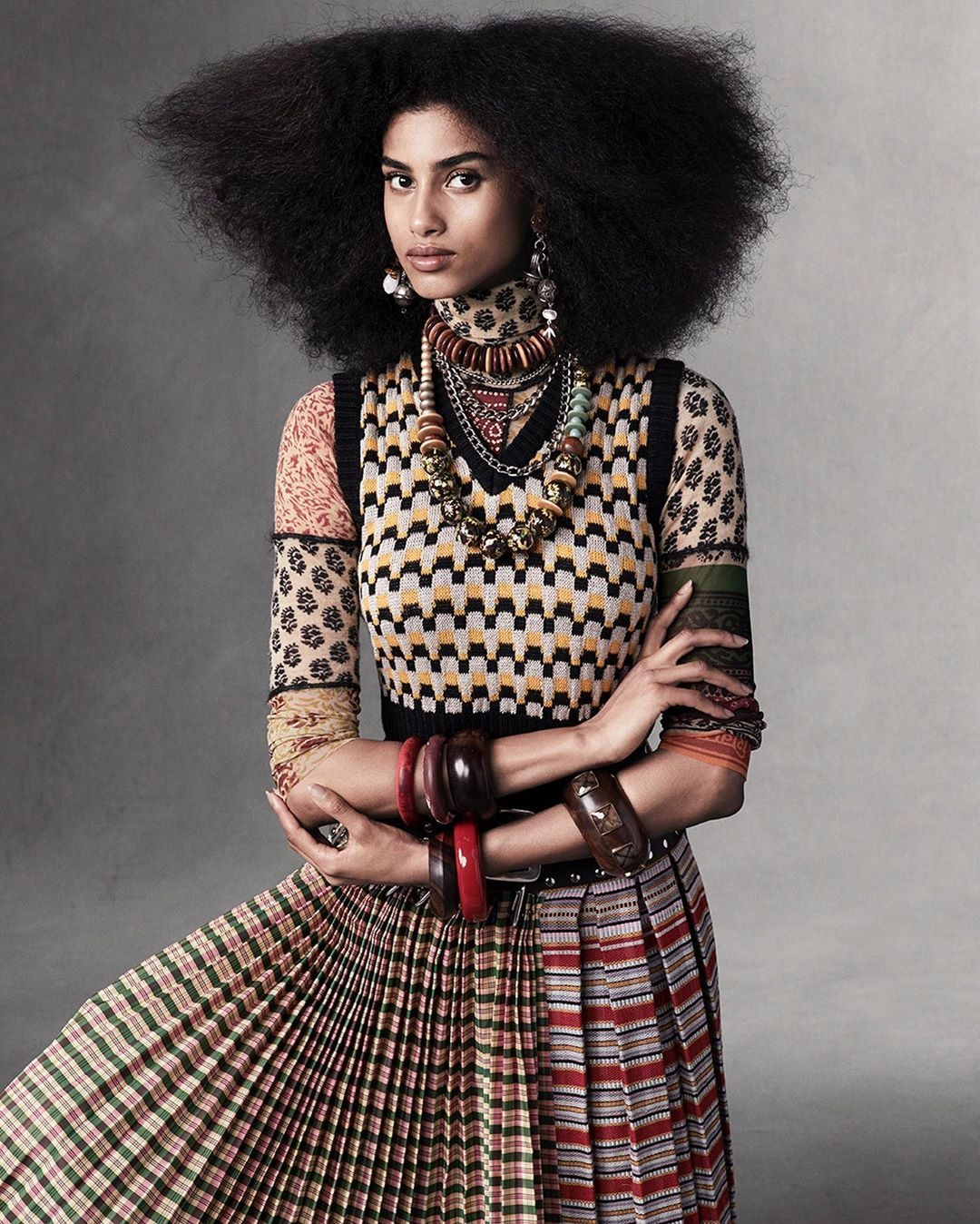 Vogue editor up close and personal Ethan James Imaan Hammam
