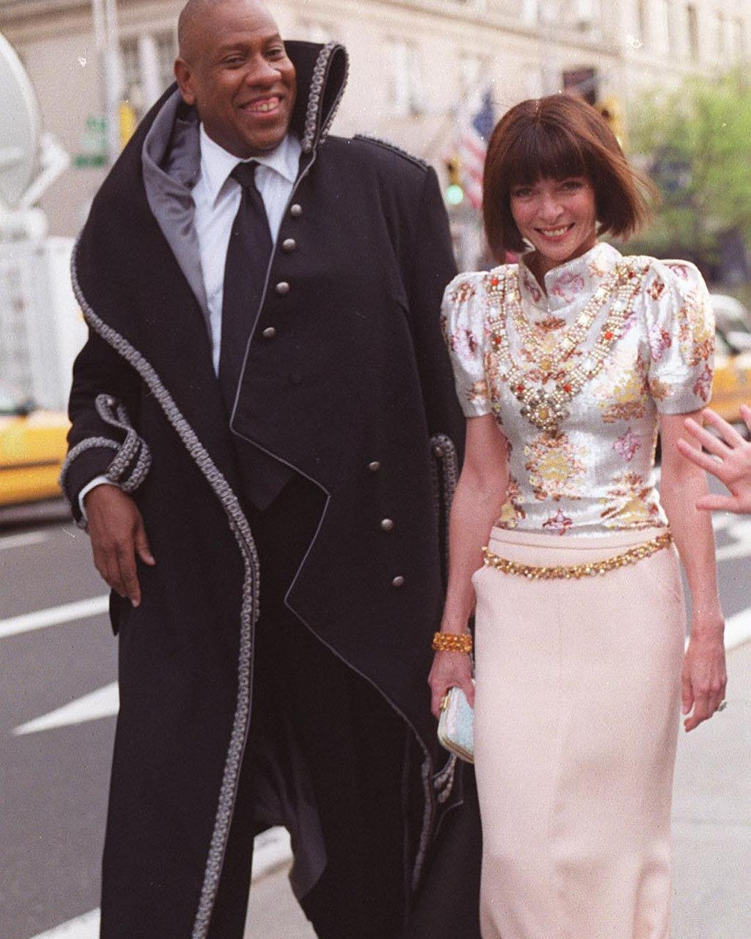 André Leon Talley Anna Wintour 2020 News Tom Ford Latest Memoir The Chiffon Trenches
