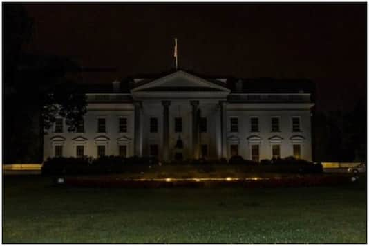 white house lights out george floyd