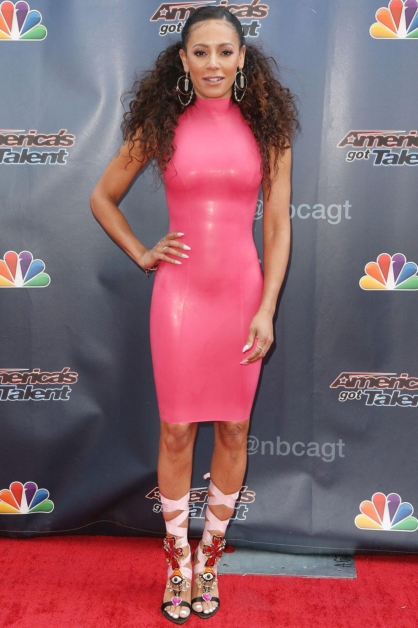 From Spice Girls To AGT: See The Evolution of Spice Girl Mel B's Style