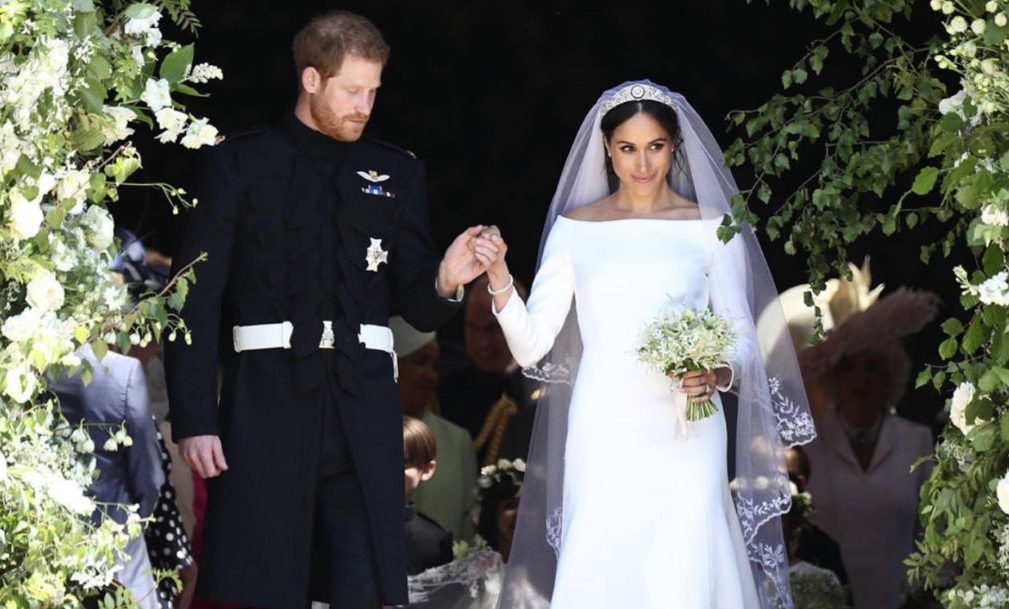 Meghan and Prince Harry anniversary