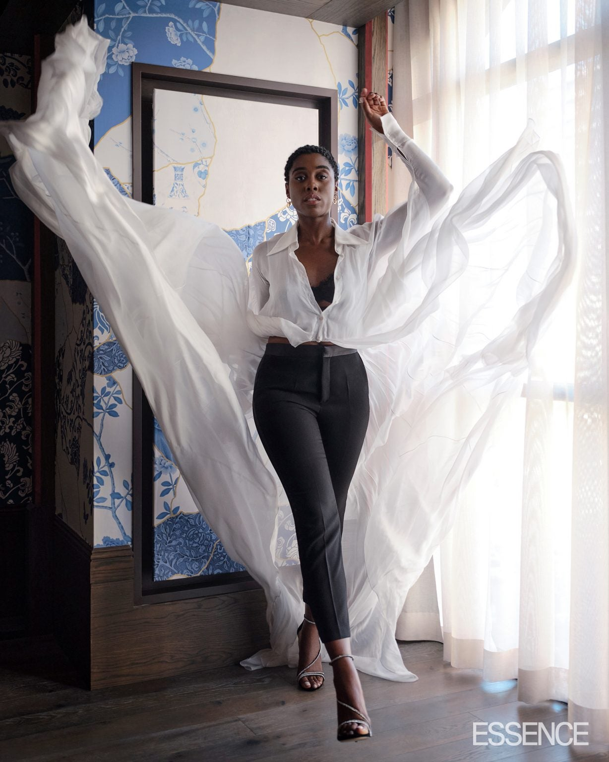Lashana Lynch, The First Black Female 007 Is Ready To Be Seen In Her Latest Essence Feature