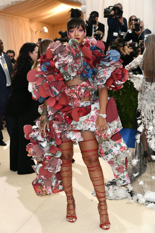 Iconic Met Gala looks Rihanna 2017