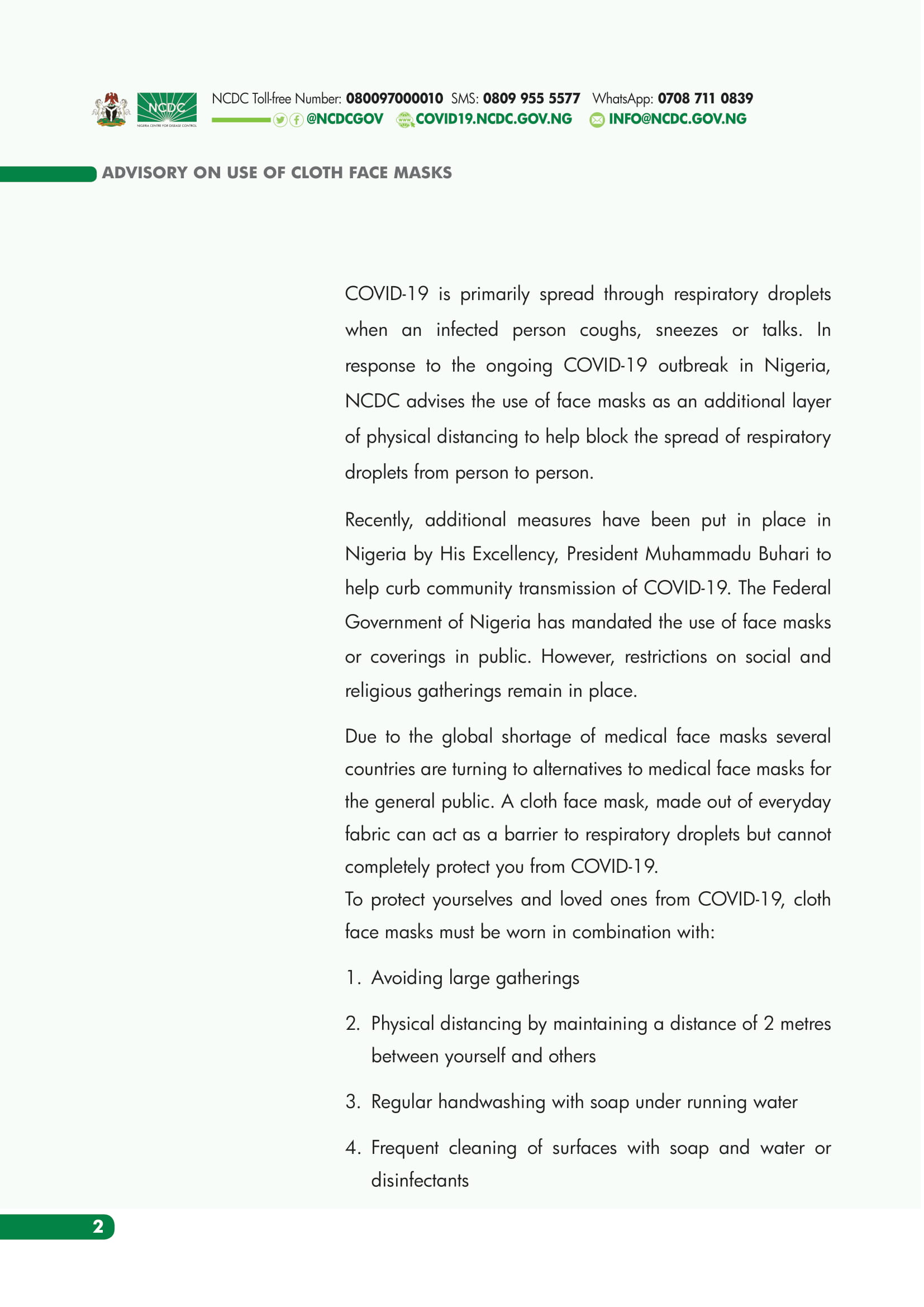 cloth-face-mask-nigeria-ncdc-guidelines-use-toyin-lawani-covid-19-coronavirus