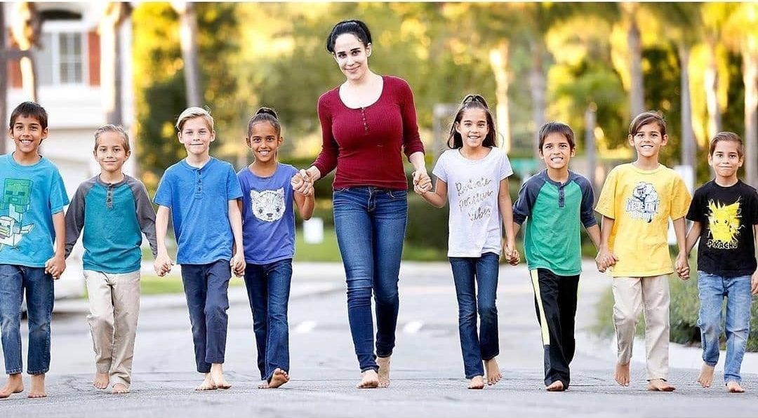 Celebrating The Octomom Nadya Suleman And Her Kids Now