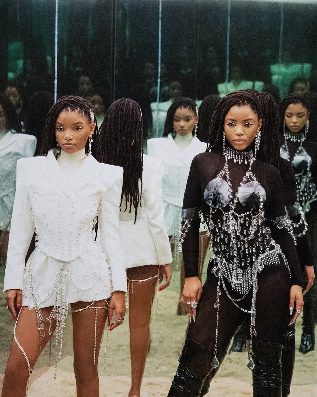 Beyoncé's Protégés, Chloe and Halle Bailey Are The Queens Of Non-Cliche Twinning