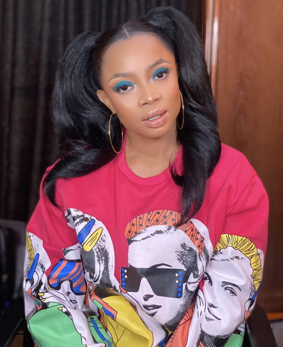 Toke Makinwa Double Ponytail Current Beauty Trends Style Rave