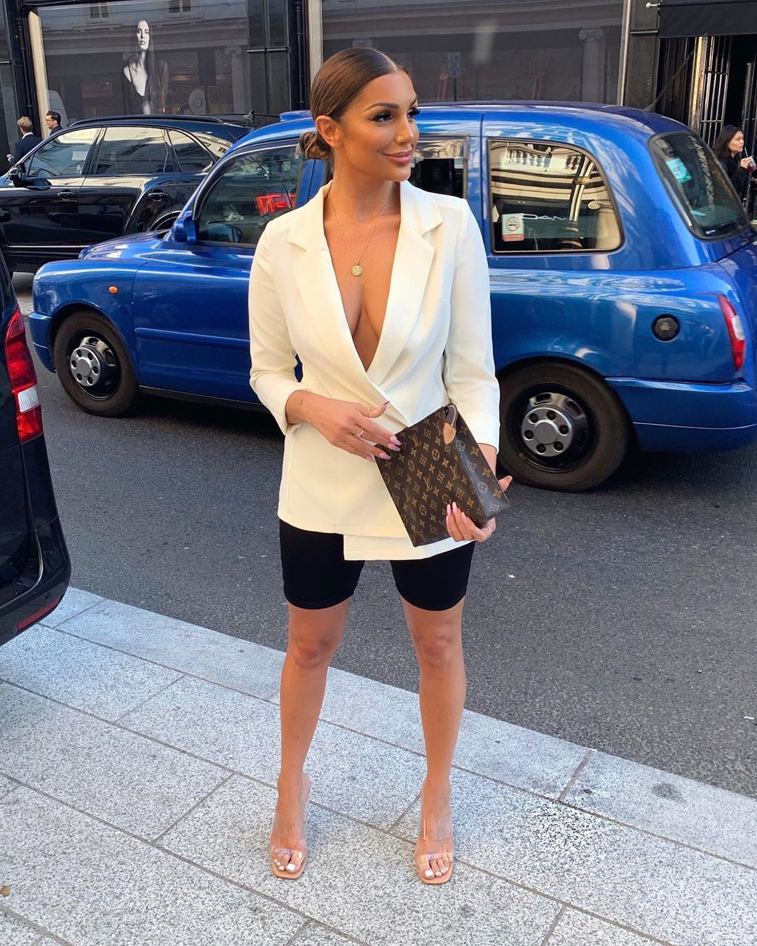 SR-Approved Ways To Style Your Biker Shorts With A Blazer