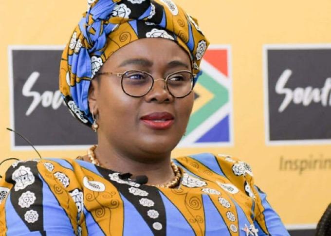 South Africa Tourism Minister Mmamoloko Kubayi-Ngubane