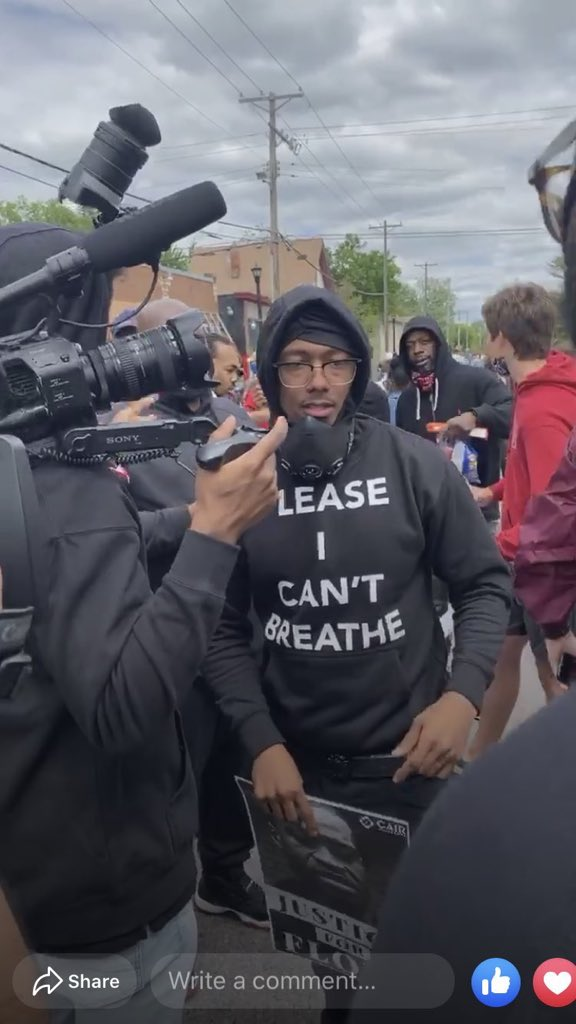 celebrities-protesting-against-racism-john-boyega-speech-keke-palmer-video-nick-cannon