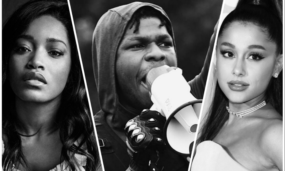celebrities-protesting-against-racism-john-boyega-keke-palmer
