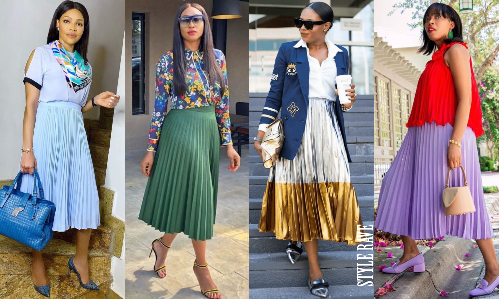 Ways To Style The Pleated Skirt