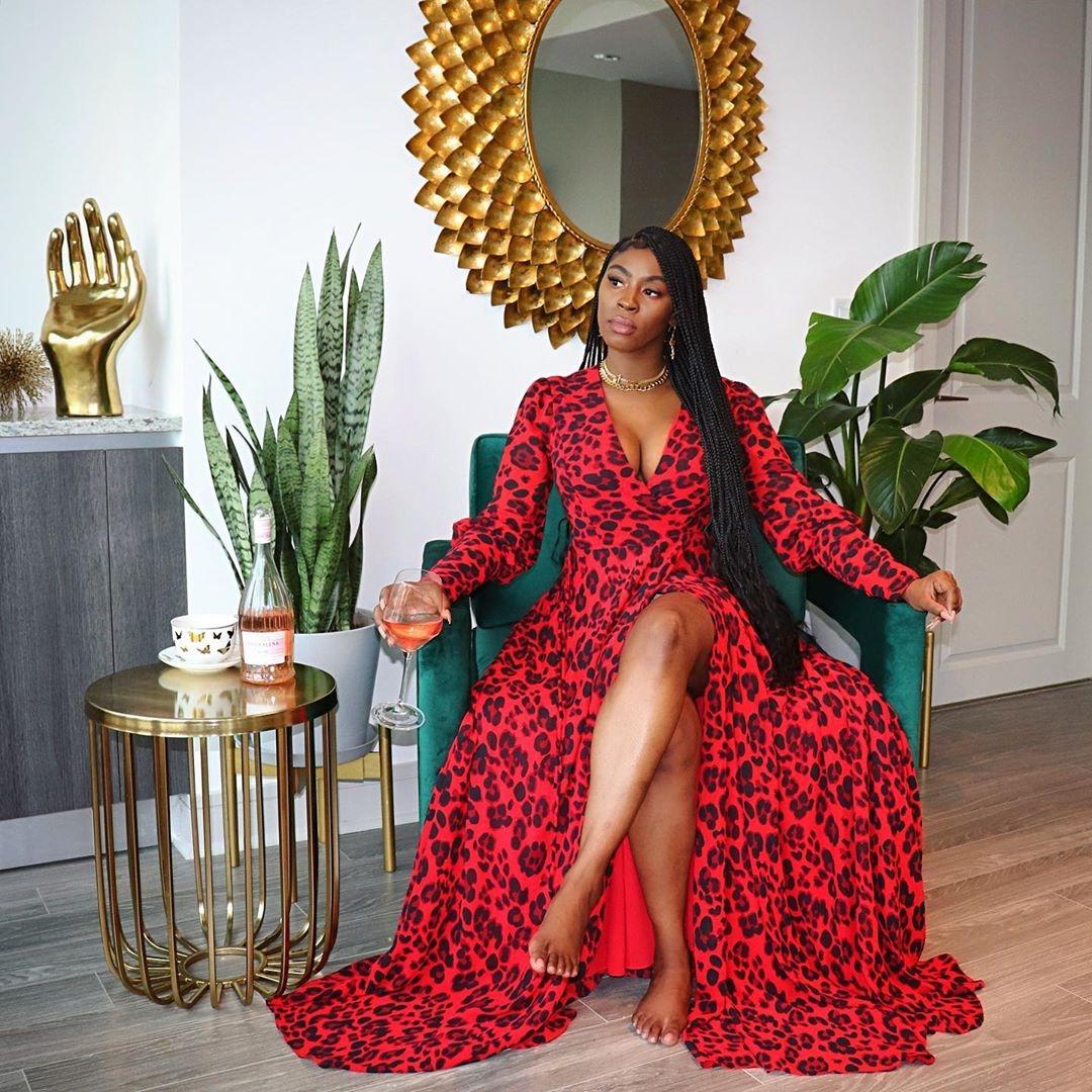 Una mirada al estilo elegante y elegante de Kemetria Lilly de Shop Lillyskloset