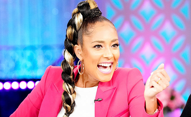 Amanda Seales Braided Ponytail The Real