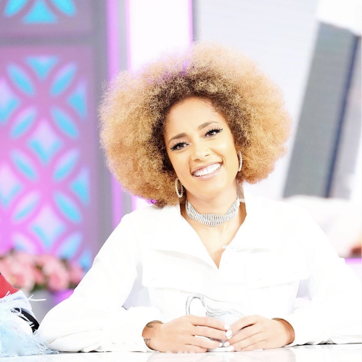 Amanda Seales Afro Natural Hair Goals StyleRave