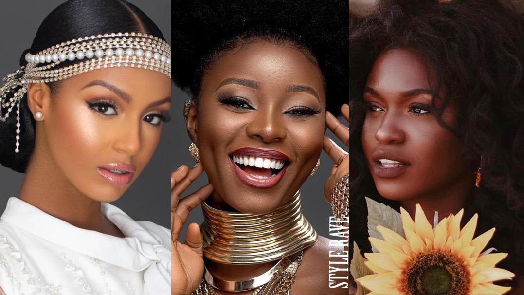 黑色美容为您的美丽,黑色女性化妆发型,2020年夏季