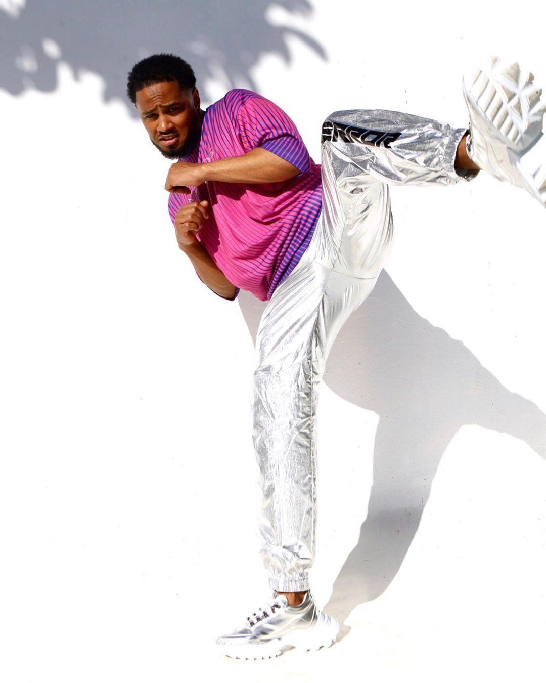 非洲非洲男性名人休闲风格时尚狂欢