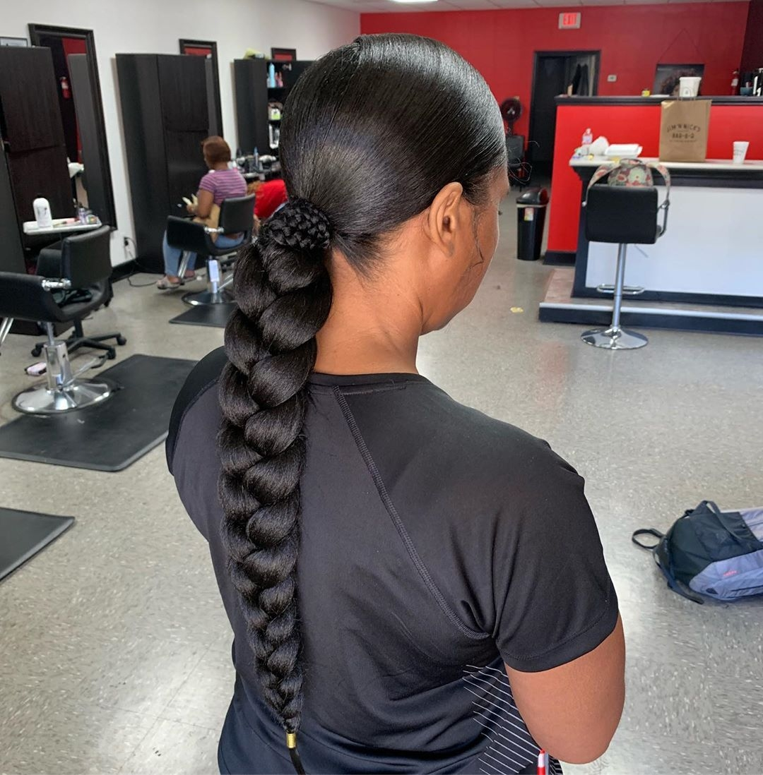 braided-ponytail-with-weave