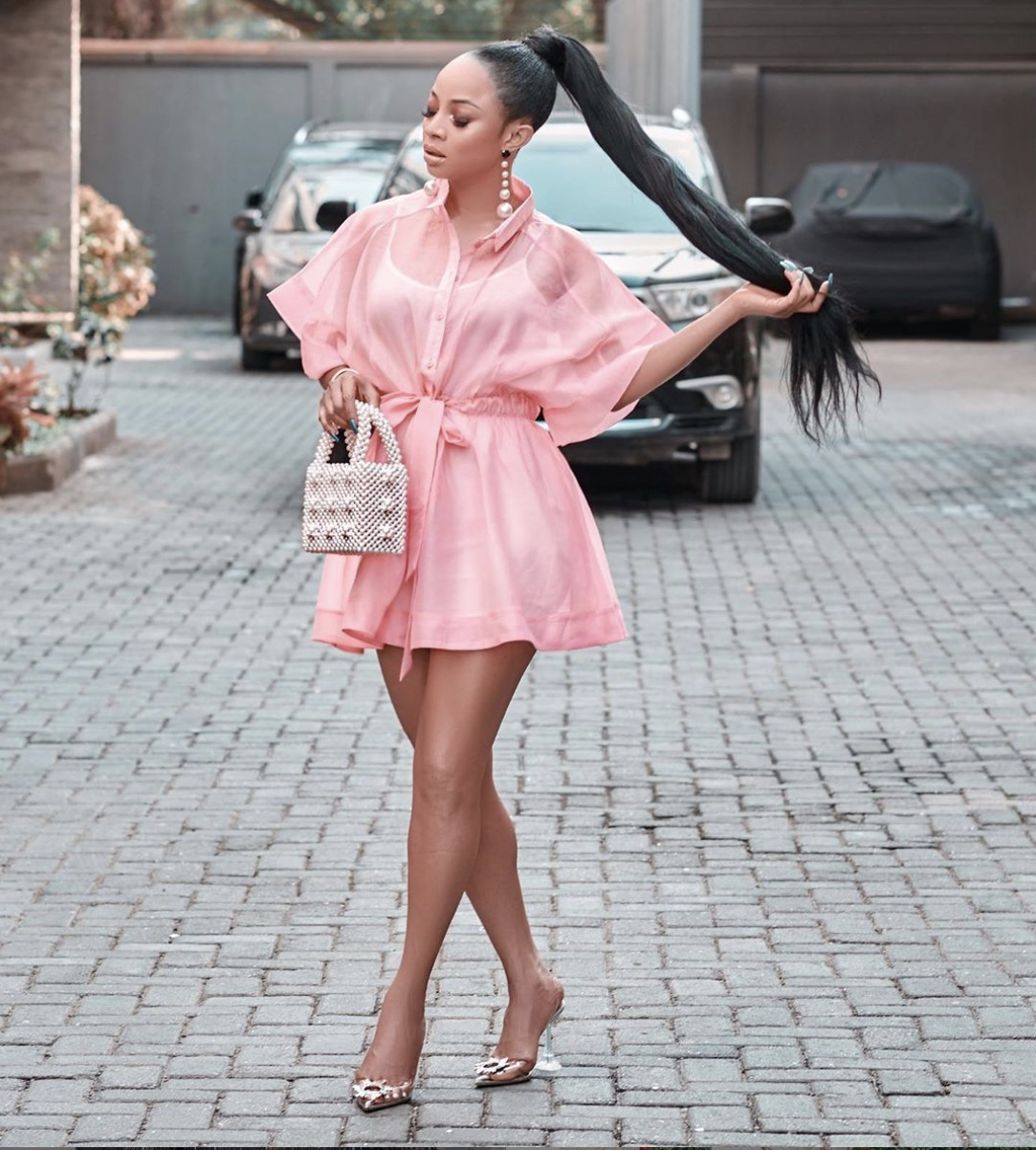 pink sheer mini dress stylerave