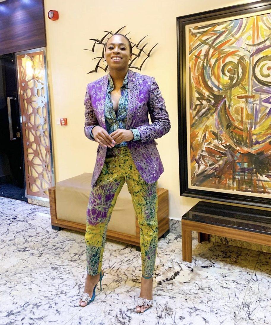 adrogynous fashion adire fabric nigerian fashion trends stylerave