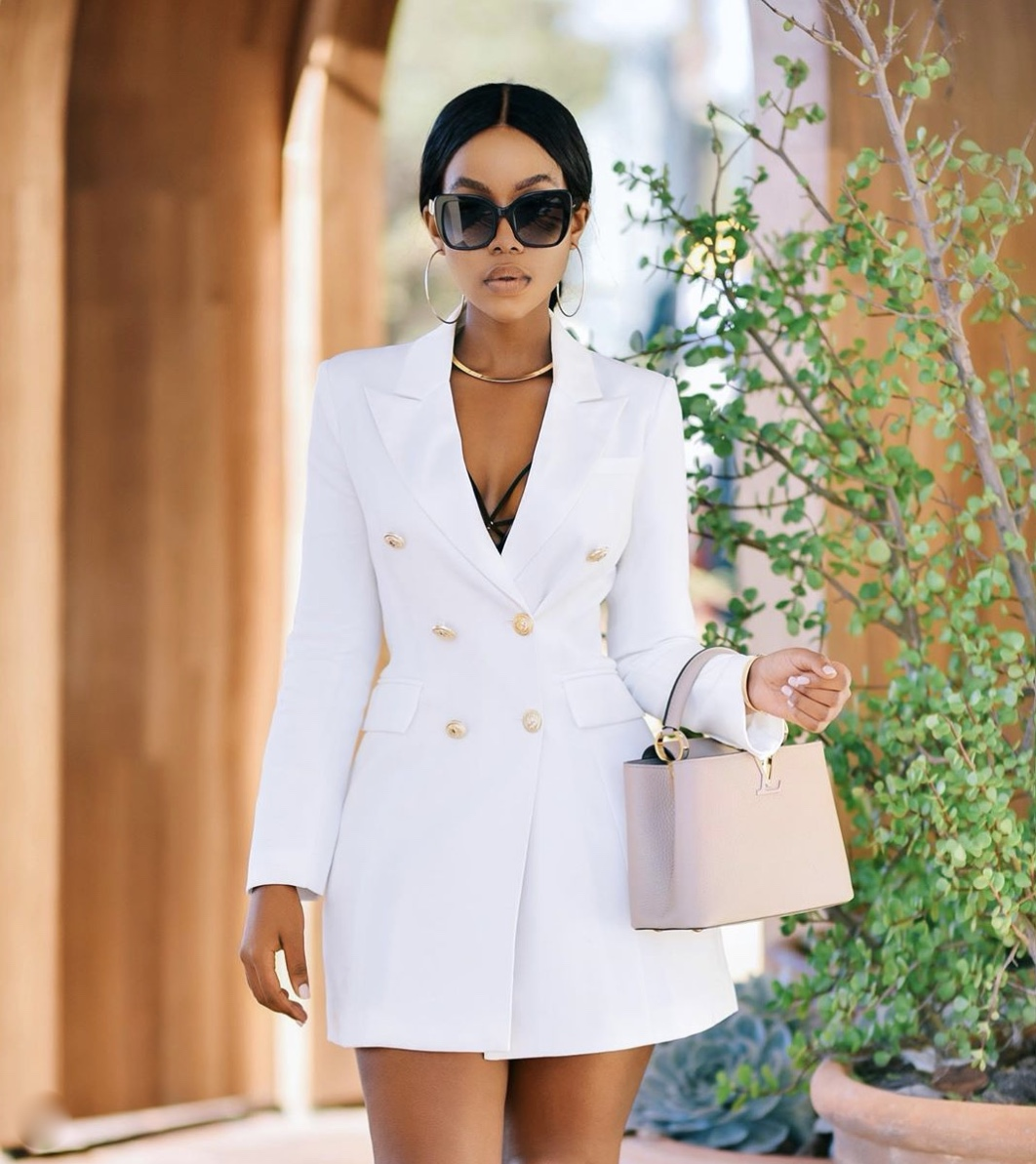 how to style a blazer dress latest fashion trends stylerave