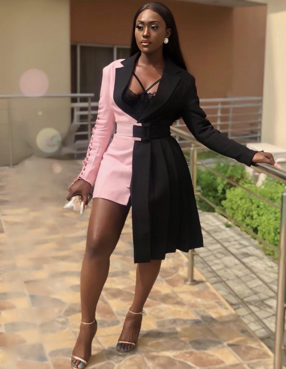 Linda Osifo asymmetric blazers stylerave