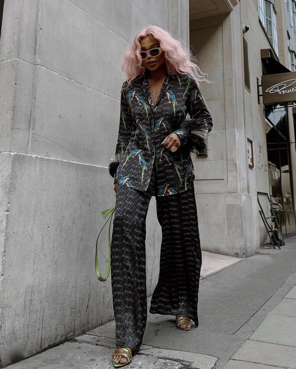 Juliette Foxx pyjama trend 2020 stylerave
