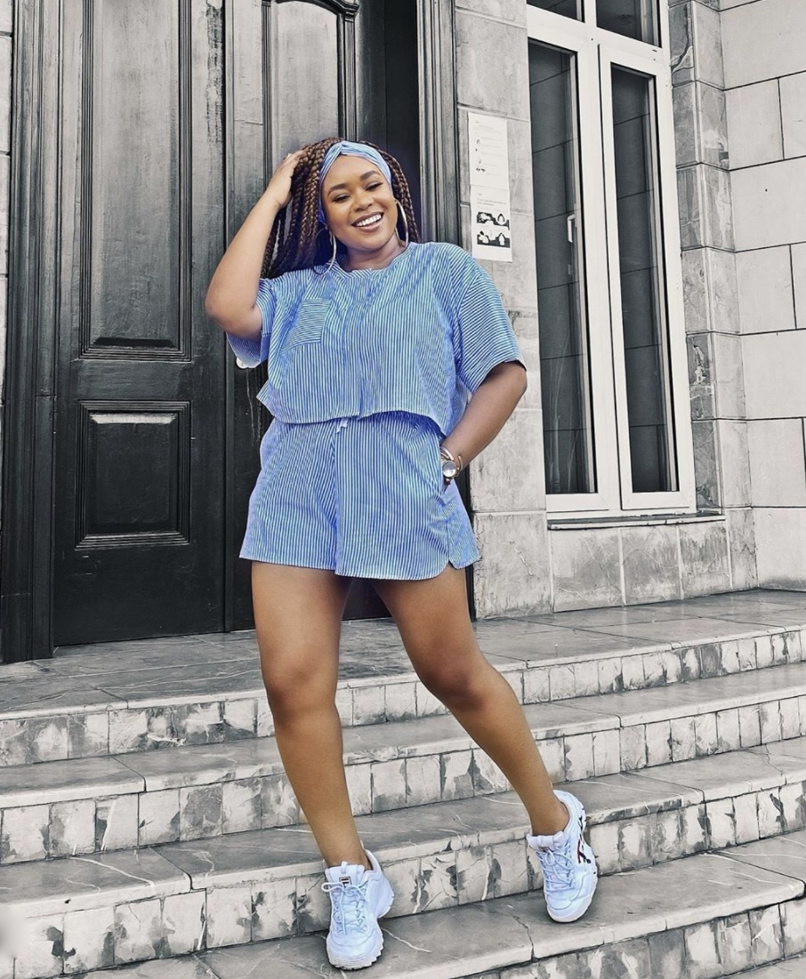 Mimi Onalaja striped pyjama set stylerave
