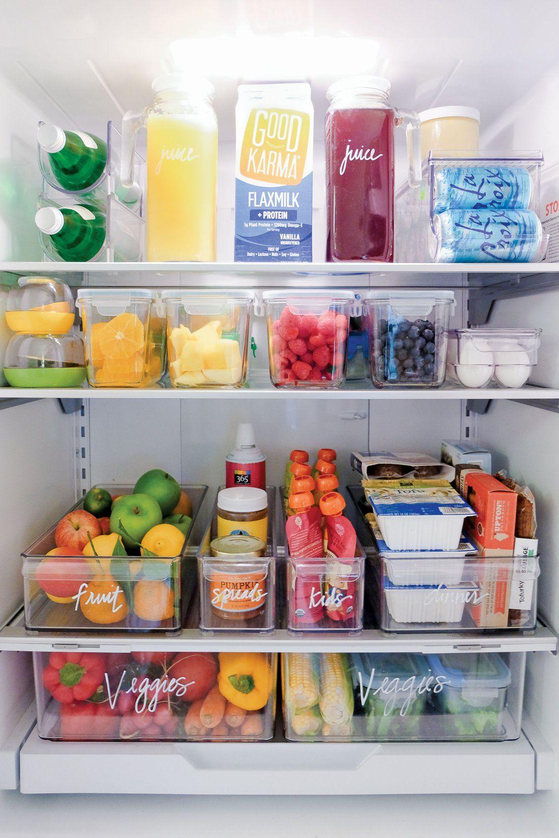 how-clean-fridge-organized-refrigerator