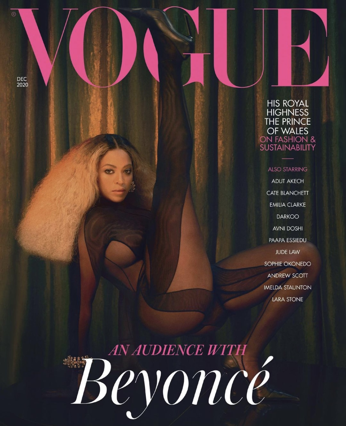 Beyoncé-British-Vogue-cover-December-issue